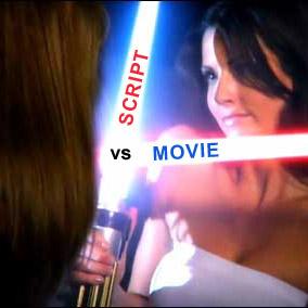 Script vs. Movie