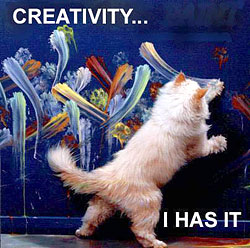 A different way of looking at creativity