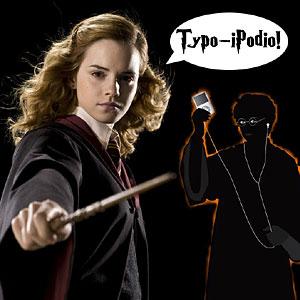 Hermione-iPodTypoSpell