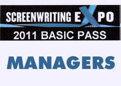 Screenwriting Expo 2011 – Why and How to get a Manager