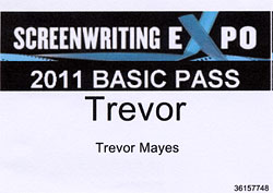 Screenwriting Expo 2011 – First Impressions