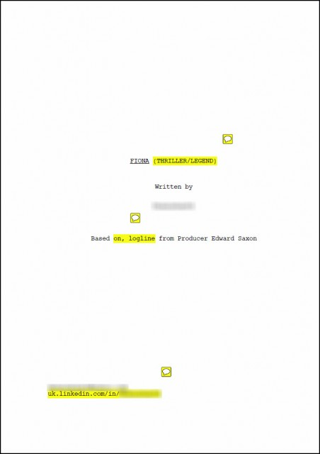 Industry Insider Screenwriting Contest – Reader Submission