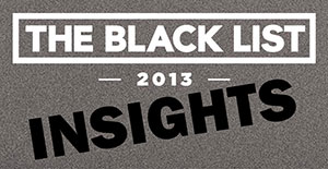 Insights from the 2013 Black List: Title Pages