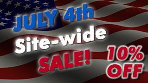 July 4th Sale – All Services 10% Off!